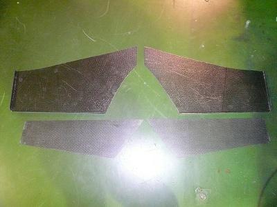 タイムアタック2号機 リヤインナーフェンダー製作