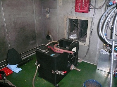 エンジンベンチ メンテナンス その2