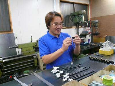 RX−8 ダンパーパーツ製作 その2