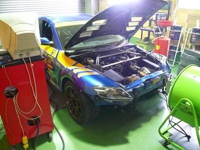 RX-8 デモカーエンジンオーバーホール その1