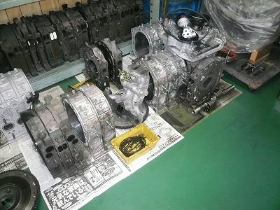 今日のエンジン室の1コマ