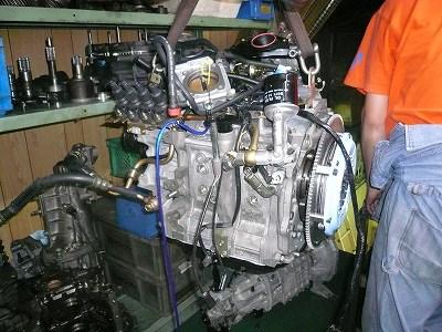 今日のエンジン室の1コマ その2