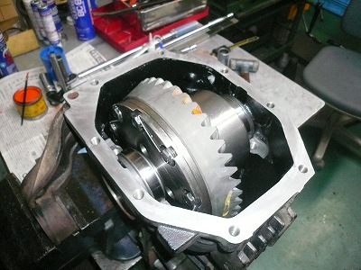 RX−8 5.125ファイナル 試作組付けテスト