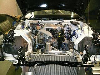 TA−1 エンジン搭載