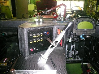 TA−2 ダッシュボード スイッチパネル加工