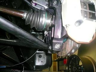 TA−2 スピードセンサー取付