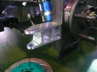 TA−2 ステアリングブラケット 再製作
