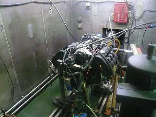 NSX エンジンベンチテスト 一日目