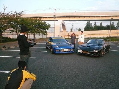 台湾カー雑誌&DVDとRX-7マガジン取材