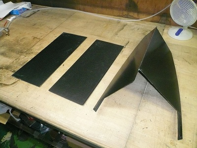 TA−2 リヤダウンフォース パーツ製作 その4