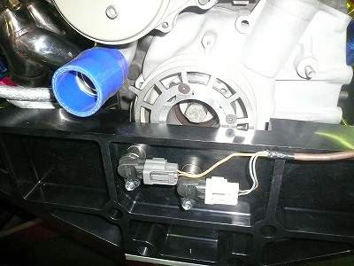 TA−2 クランク角センサー取付