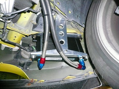 RX-8 A/T ATFクーラーとエンジンO/H時のダメージ