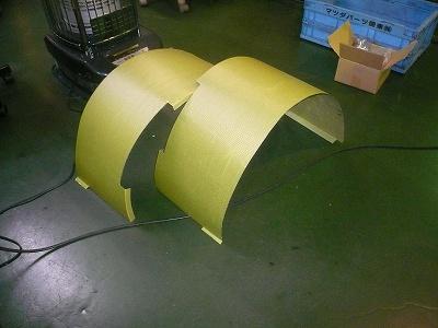 TA−2 リヤ インナーフェンダー製作 その2