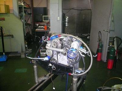 TEST 1 エンジン ベンチ終了