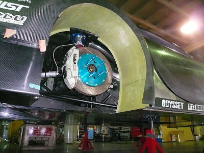 TA−2 リヤ インナーフェンダー取付