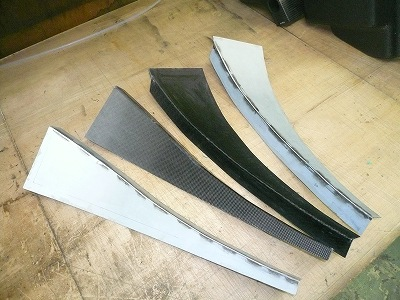TA−2 リヤ カナード製作
