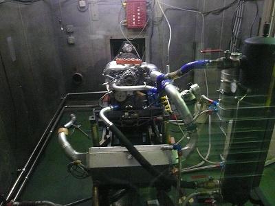 TA−2 TEST 3 エンジンベンチテスト 準備