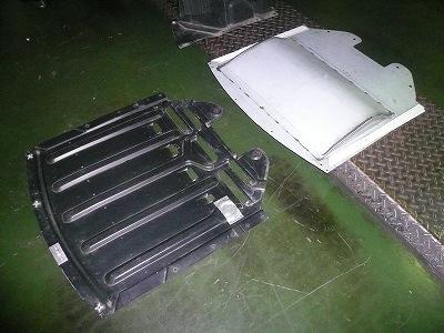 RX−8 用アンダースイープパネル 型 完成