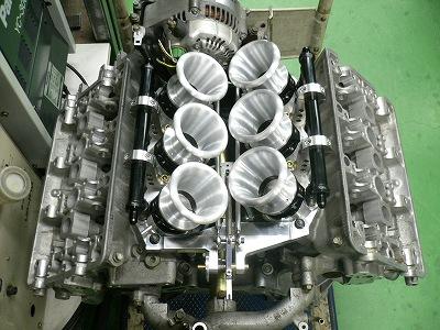 NSX 6スロ アクセルリンケージ 完成