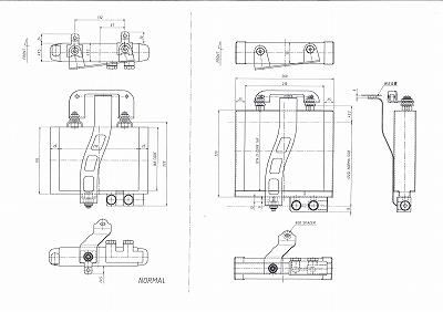 RX-8用新作OILクーラー