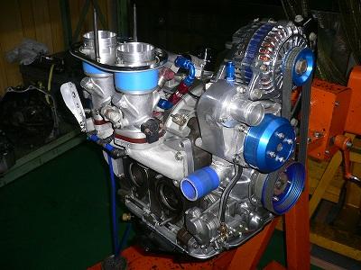 圭ちゃんのエンジン完成