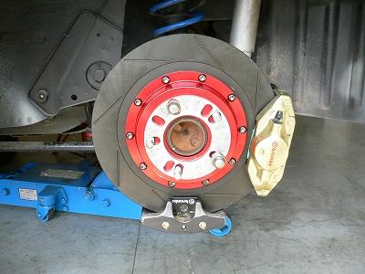 SA22C リヤブレーキ製作