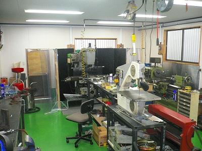 加工室の完成です