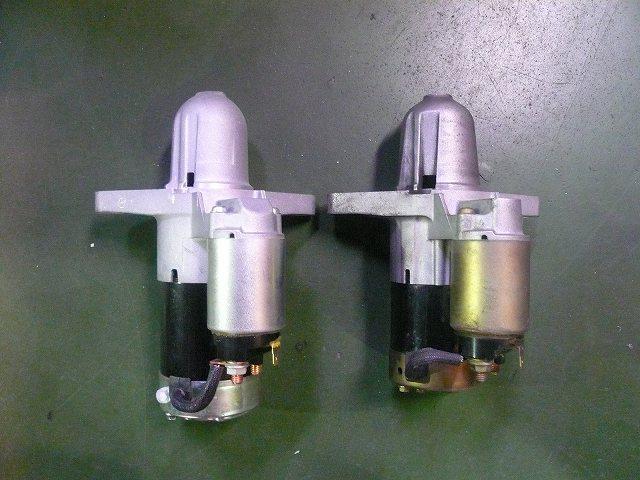 RX−8 デモカー スターター交換