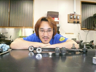 RX-8 新発売予定 試作 トーコントロールロッド