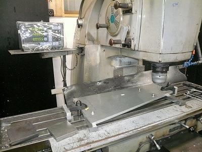 タイムアタック2号機 ウイングステー製作